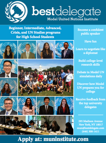 MUN Institute Flyer