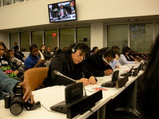 Post image for From Model UN to the Real UN: Global Classrooms Students Visit Security Council
