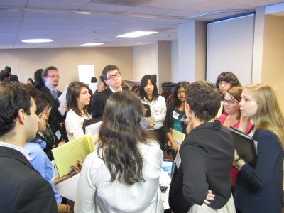 Commission on Status of Women delegates during unmoderated caucus