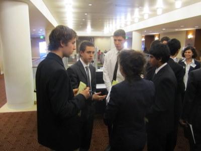 IMF delegates caucus