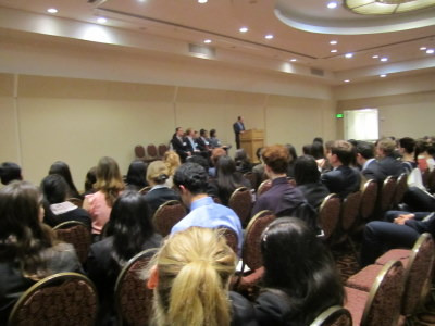 Post image for UCBMUN Live Blog: Professor, Delegates Discuss Democracy & Middle East at Opening Ceremonies