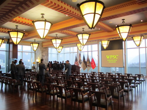 The Haig Room Before Opening Ceremonies