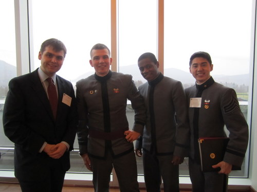 Model UN Rockstars: Peter Bacon, George Lemeur, Warren Geary, Woo Song Do
