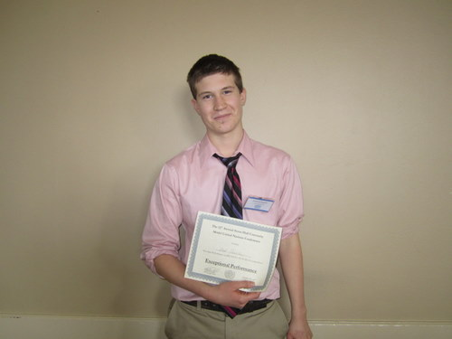 Student from Appoquinimink HS receives  FUN-MUN award