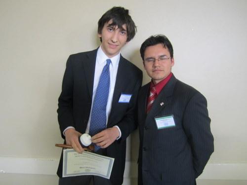 IAEA Best Delegate: Princeton High School