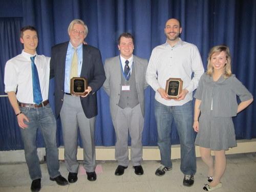 Best Large Delegation Princeton High School and Best Small Delegation Glen Ridge High School