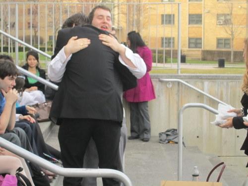 Post-Conference Hug!