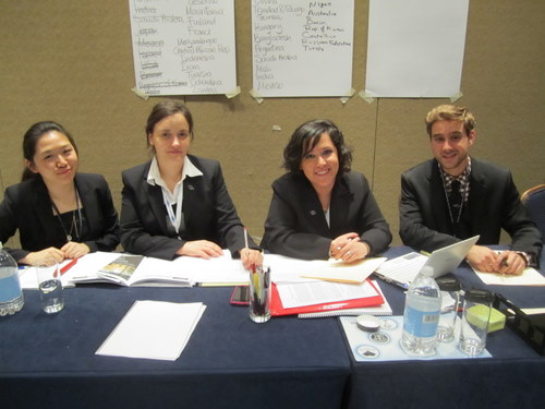 The Staff of the UN Environmental Program (Marriott)