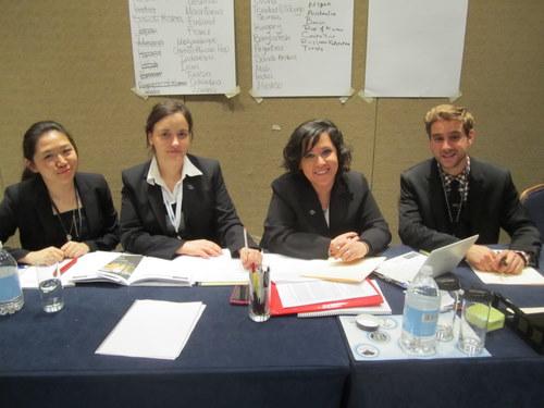 The Staff of the UN Environmental Program (Marriott)