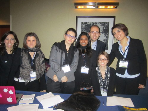 Meet L'associazione Diplomatici! They brought 300 delegates from Italy to attend NMUN