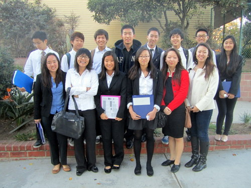 The Korean American Coalition represented South Korea at LAIMUN, which was the first MUN conference for many of their delegates