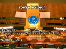 University of Delaware Model United Nations HenMUN