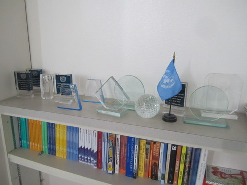 Various delegation awards that Huntington has won over the years