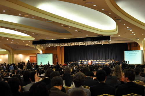 Over 3,000 delegates from 22 countries are at NAIMUN