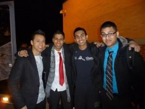 The JPSMUN Team at HMUN