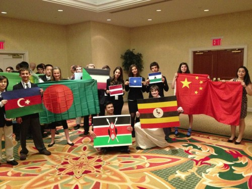 MUN has the power to bring nations together.