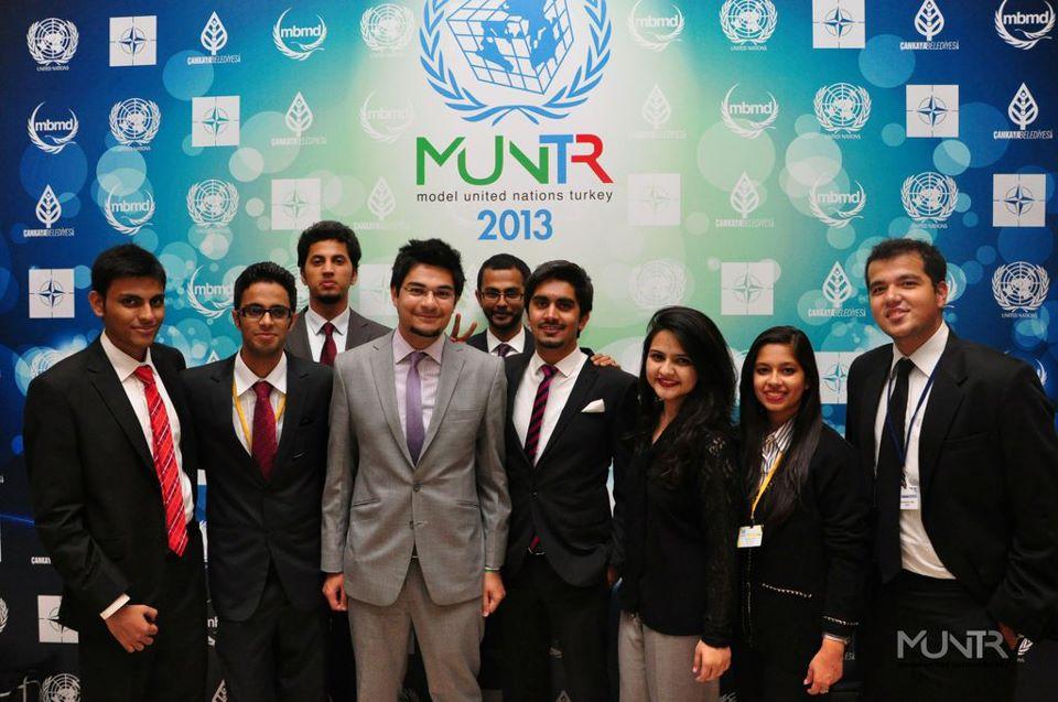 Pakistan IBA's delegation to MUNTR