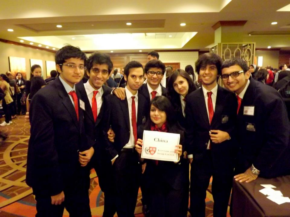 Lyceum's delegation to HarvardMUN