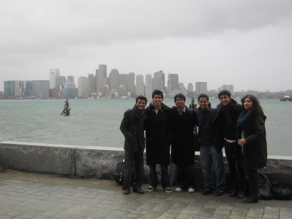 Nixor School Karachi team at Harvard MUN