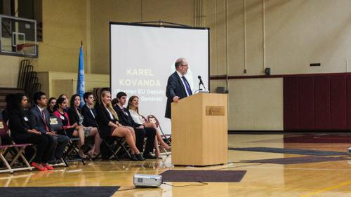 Ambassador Karel Kovanda Speaks at Opening Ceremonies