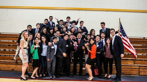 Congratulations to the staff of McKennaMUN on hosting their inaugural MUN conference!