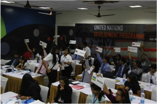 UNDP delegates in session