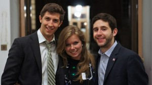 Familiar faces from the North American Model UN Circuit part of the American and Canadian delegations: Dane Shikman (Georgetown), Sabrina Ostrowski (McGill), Alex Haber (UPenn)