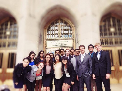 The University of Pennsylvania took home Outstanding Large Delegation honors. (Photo Courtesy of Akhilesh Goswami)