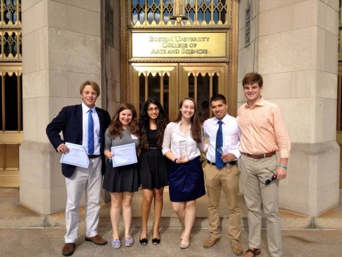 The Duke University team took home Outstanding Small Delegation honors.