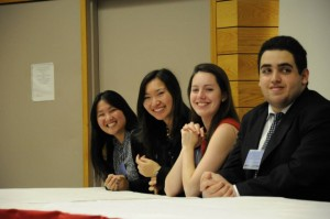Secretariat Members at Opening Ceremonies (Photo Courtesy of Kriti Agarwal)