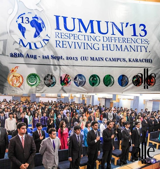 IUMUN 2013 Opening Ceremony