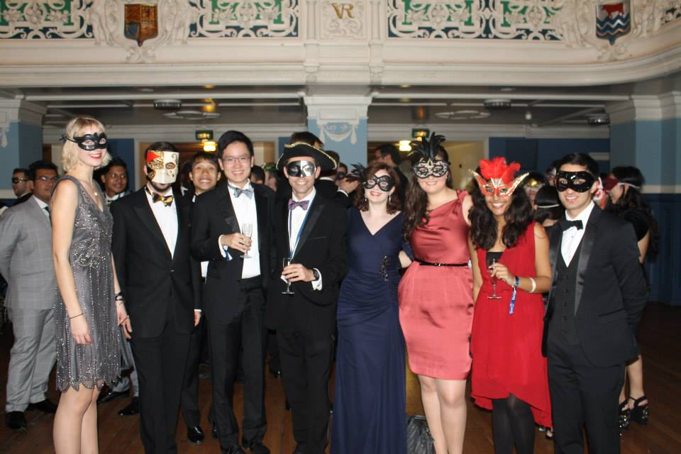 An evening of sophisticated fun at the Masquerade Ball.