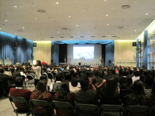 BruinMUN 2013 closing ceremonies in Ackerman Union.