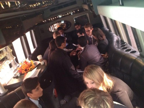 The AdHoc committee takes a limo to the Philadelphia Federal Reserve for a crisis update.