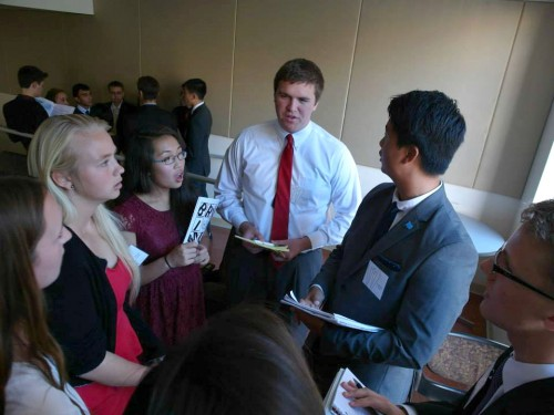 Delegates in 4th SPD discuss the situation in DR Congo.