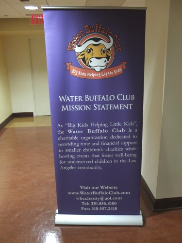 "The Water Buffalo Club was chosen as the official charity because it was ""local and at a size and level so that [BruinMUN] can be a partner to them."""