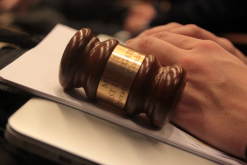 Committee gavel from MUNE I.