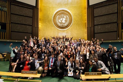 GCIMUN Staff at UN Headquarters