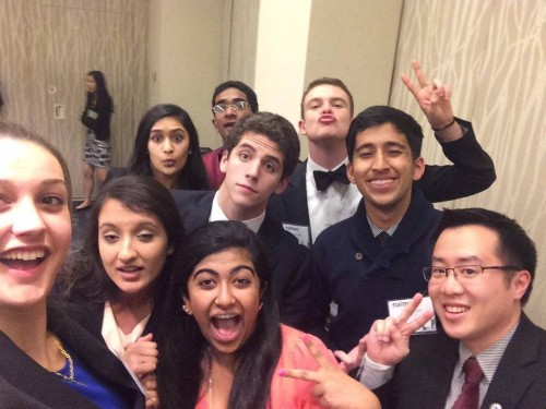 Security Council selfie with Best Delegate!