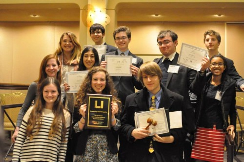 School Without Walls took home the Outstanding Small Delegation