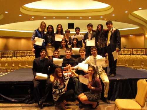 West Windsor-Plainsboro High School North won the Best Small Delegation