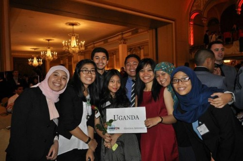 UI Delegation for HNMUN 2013