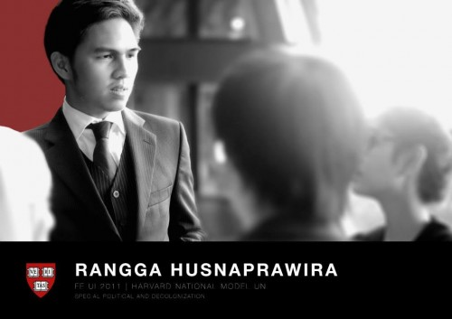 Rangga Husnaprawira, Head Delegate of UI for HNMUN 2014