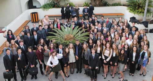 Sophomores of HBHSMUN competed in Surf City in order to get experience in advanced committees