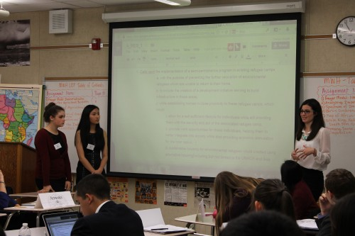 Venezula (Edison), Guatemala (Edison), and China (Santa Margarita) present a resolution on environmental refugees in UNHCR