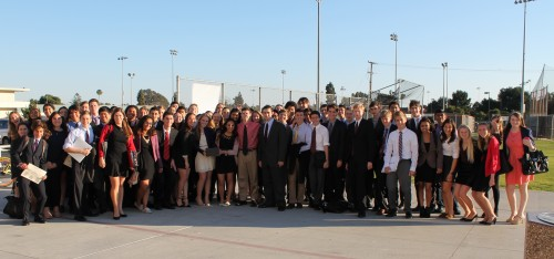 Mira Costa High School won one of the Best Large Delegation awards.