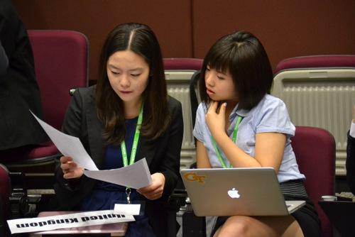 Working Delegates 3