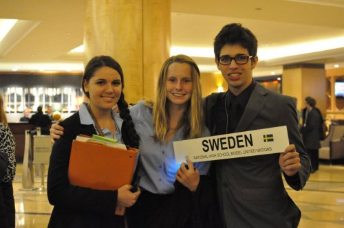 American Heritage School representing Sweden. Two of these delegates were Best Delegate Summer Programs alumni!