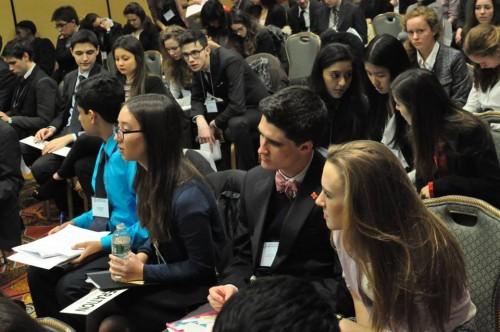 Delegates in action