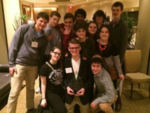 South Lakes High School received Best Small Delegation